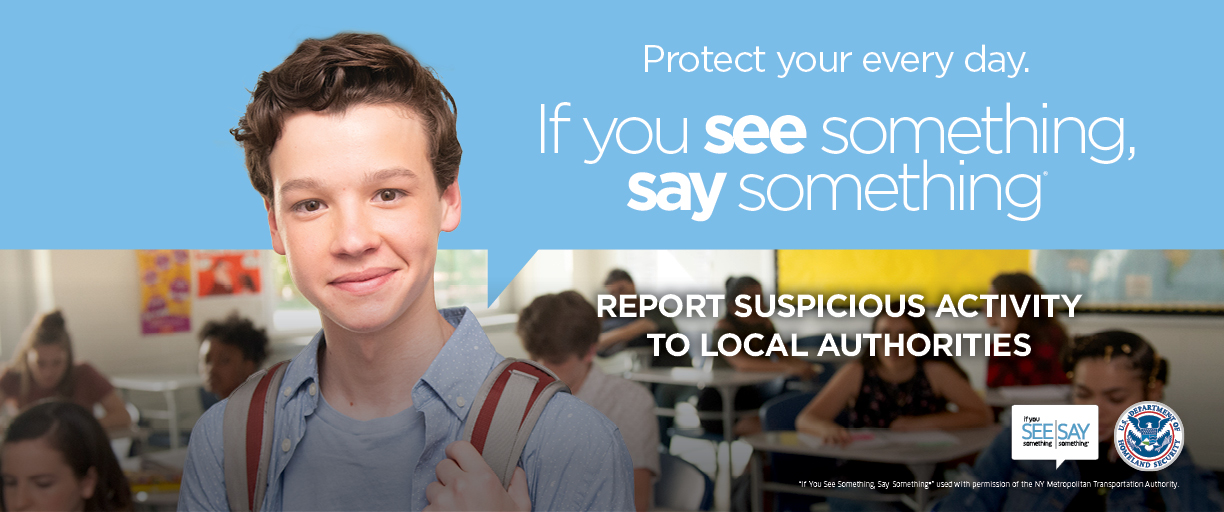 See Something, Say Something campaign poster