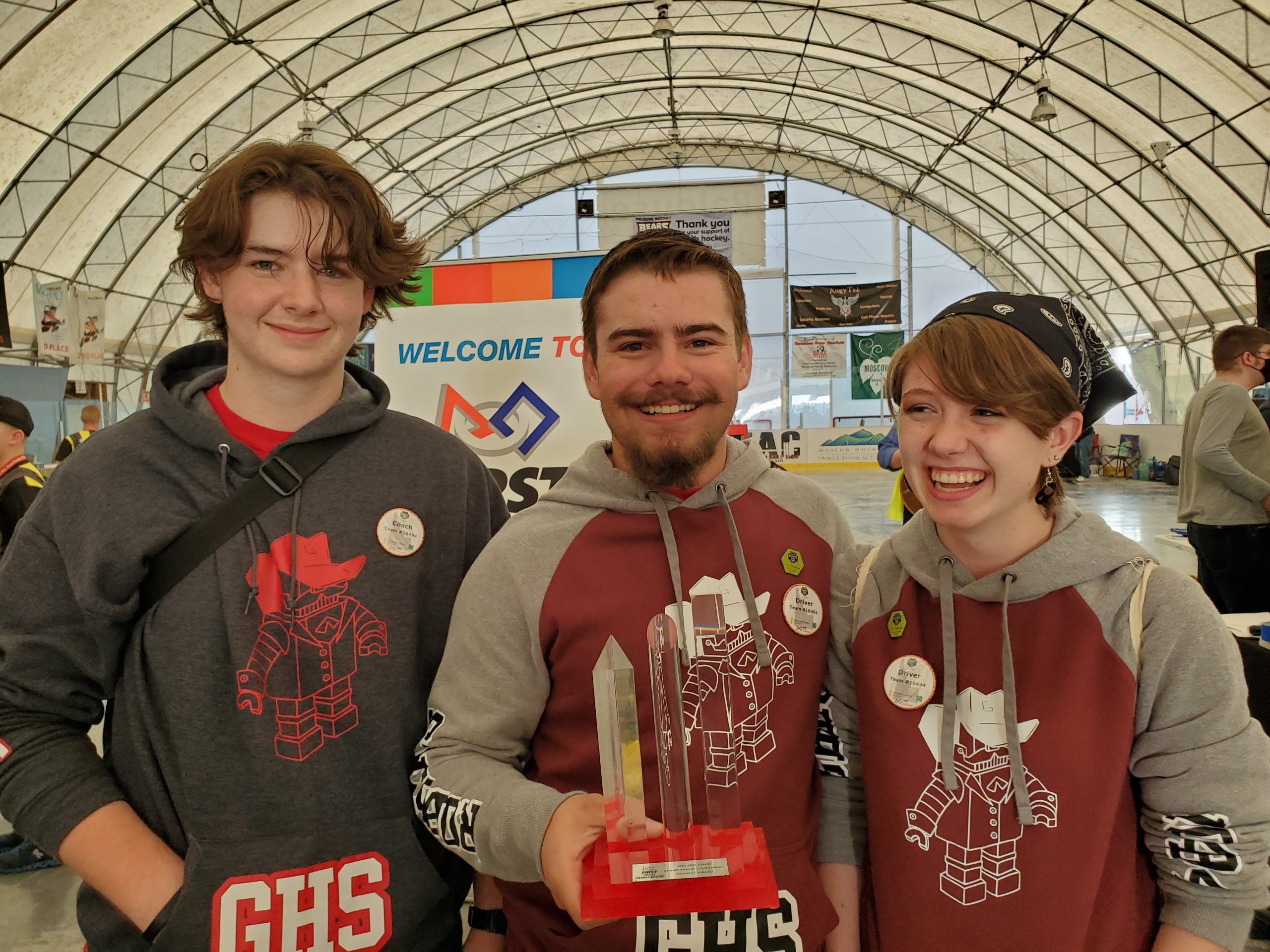 GHS Students at State Robotics Competition
