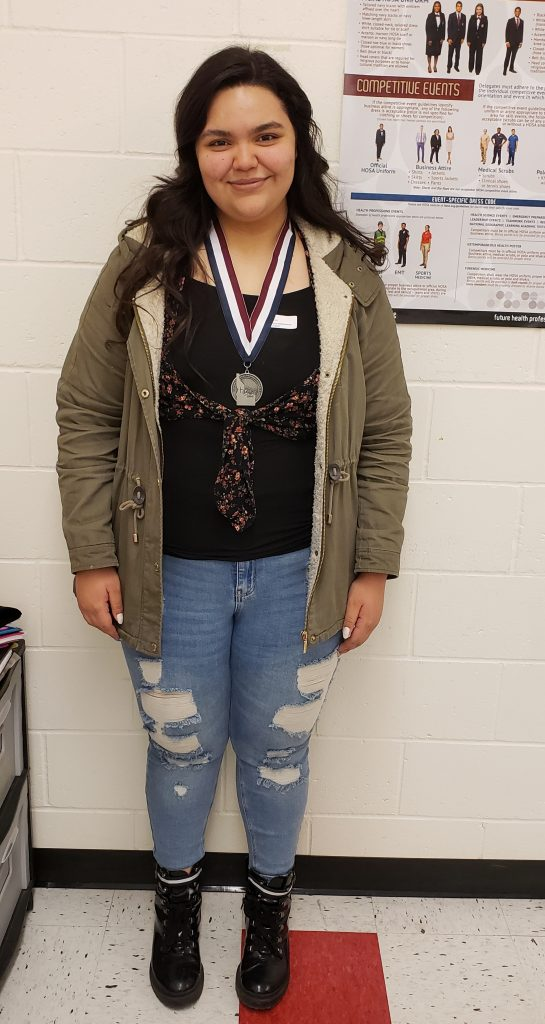 HOSA Student at GHS